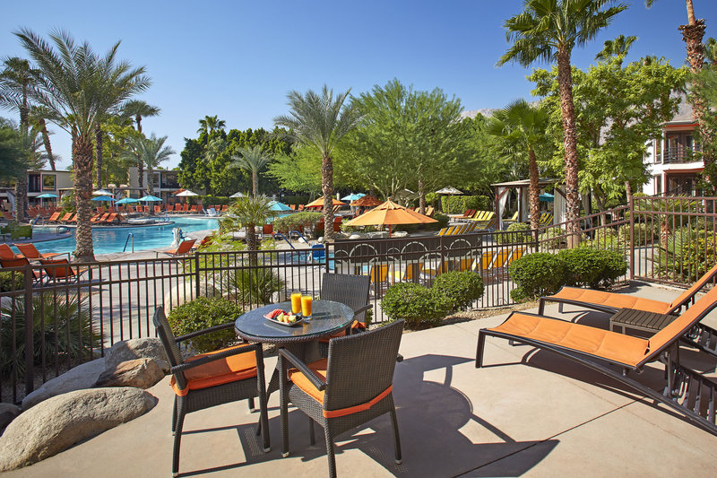 Riviera Palm Springs-Patio - Pool View<br/>Image from Leonardo