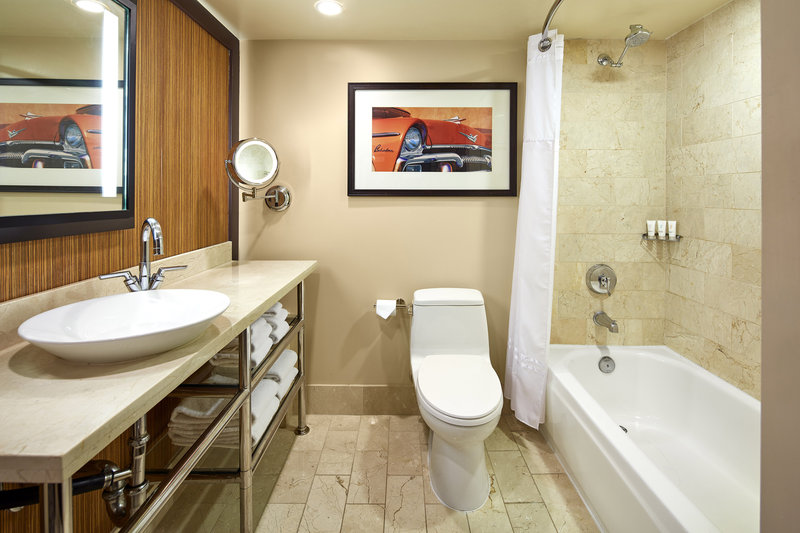 Riviera Palm Springs-Guest Bathroom<br/>Image from Leonardo