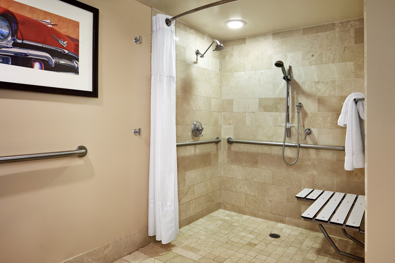 Riviera Palm Springs-Accessible Bathroom - Roll-In Shower<br/>Image from Leonardo