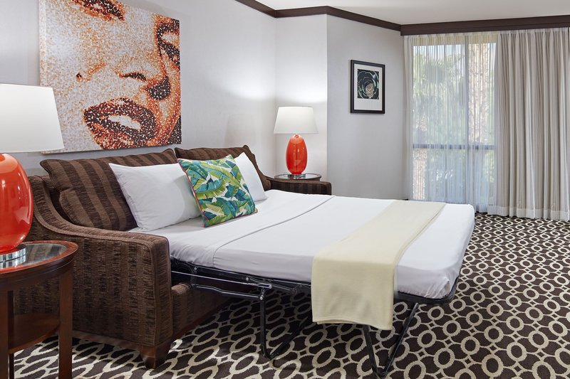 Riviera Palm Springs-One-Bedroom Deluxe King Suite - Sofa Bed<br/>Image from Leonardo
