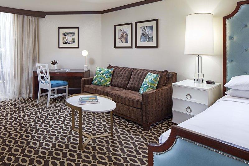 Riviera Palm Springs-Junior King Suite - Living Area<br/>Image from Leonardo