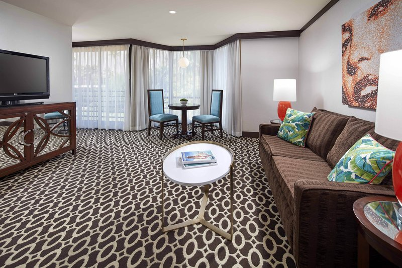 Riviera Palm Springs-One-Bedroom King Studio Suite - Living Area<br/>Image from Leonardo