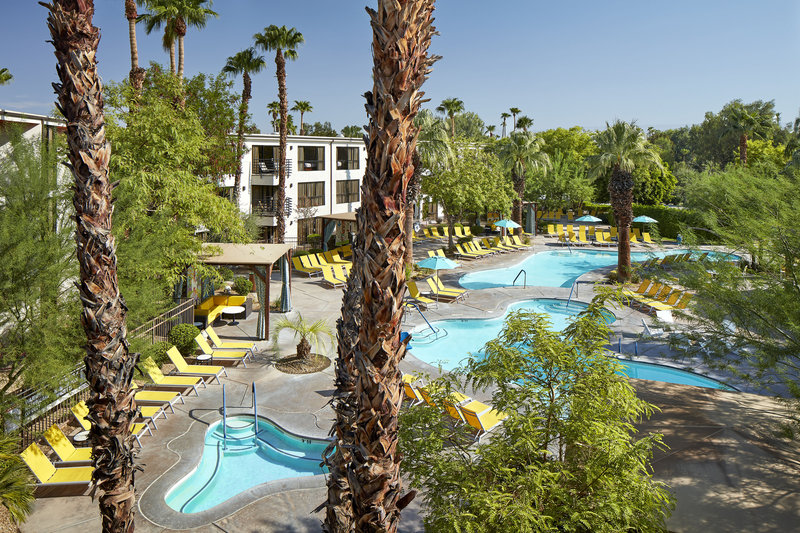 Riviera Palm Springs-Outdoor Pool View<br/>Image from Leonardo