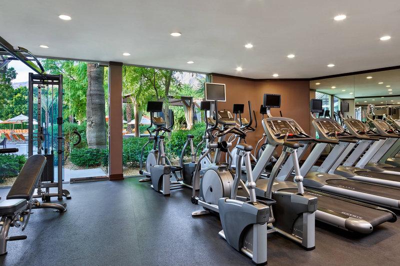 Riviera Palm Springs-Fitness Center<br/>Image from Leonardo