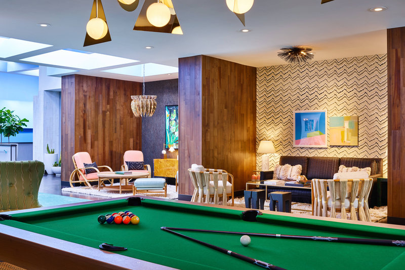 Riviera Palm Springs-Arcade Lounge detail<br/>Image from Leonardo