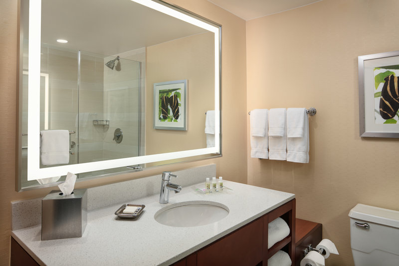 Crowne Plaza Austin - Town Lake-Freshen up for the day ahead in our sleek bathrooms.<br/>Image from Leonardo