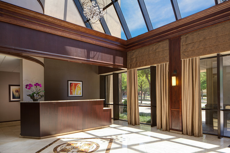Crowne Plaza Dallas Galleria - Addison-North Lobby - Private Group Registration Booth<br/>Image from Leonardo