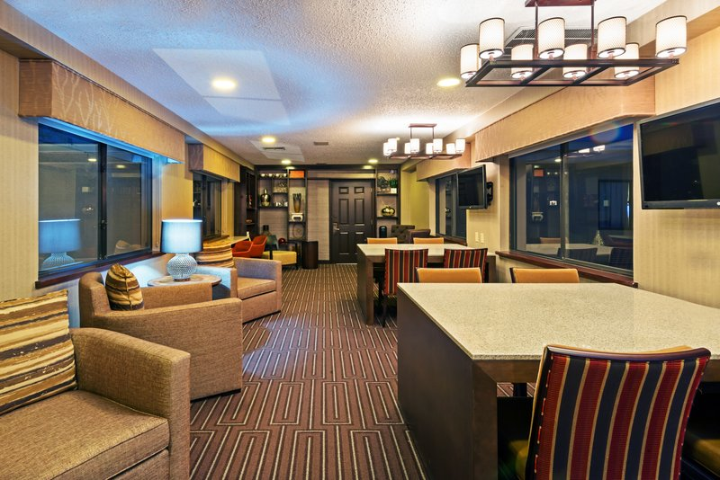 Crowne Plaza Dallas Galleria - Addison-IHG Rewards Club Lounge - Complimentary to all IHG Reward members<br/>Image from Leonardo