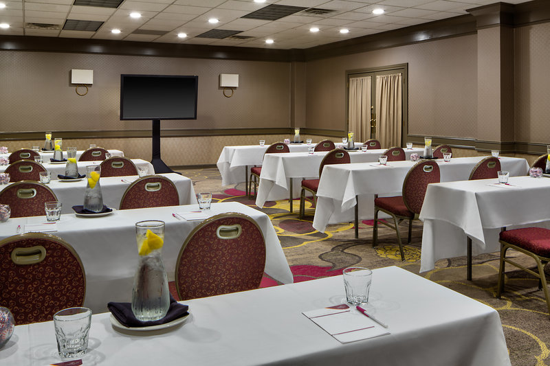 Crowne Plaza Dallas Galleria - Addison-Willow Room - Classroom Style Seating<br/>Image from Leonardo