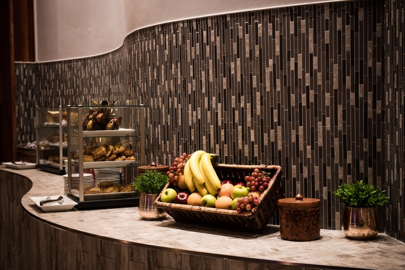 Crowne Plaza Philadelphia-Cherry Hill-Daily Breakfast Buffet featuring fresh fruit and pastries<br/>Image from Leonardo