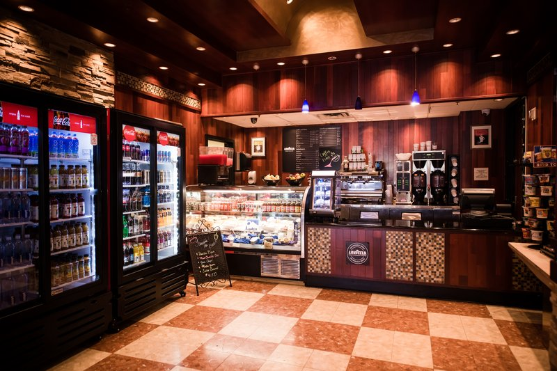 Crowne Plaza Philadelphia-Cherry Hill-Grab a cup of fresh ground coffee, espresso and a snack on the go<br/>Image from Leonardo
