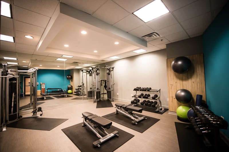 Crowne Plaza Philadelphia-Cherry Hill-Lift, build and grow in our strength focused weight room<br/>Image from Leonardo