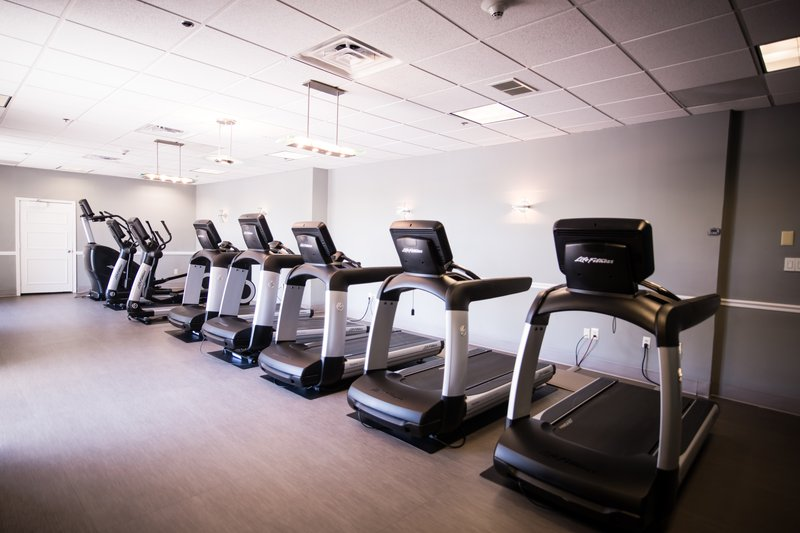 Crowne Plaza Philadelphia-Cherry Hill-Run, climb, or cycle your way to a better you in our cardio room<br/>Image from Leonardo