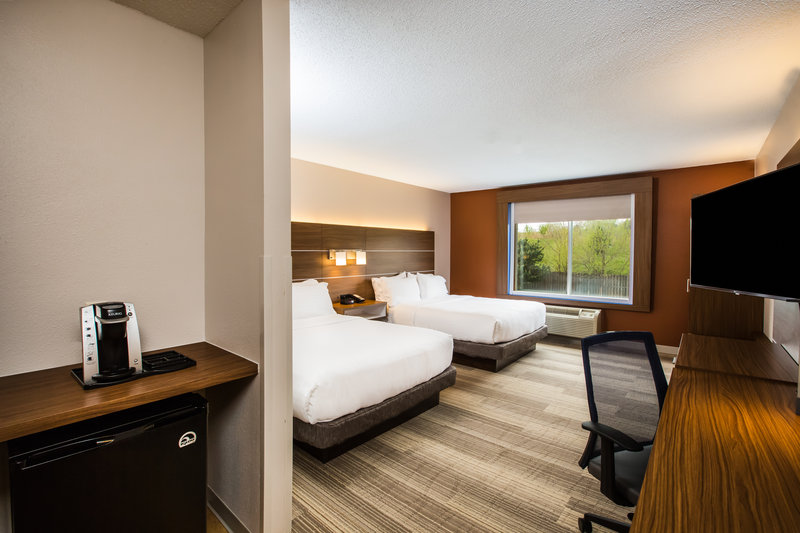 Holiday Inn Express & Suites Bellevue (Omaha Area)-Accessible room with Two Queen beds<br/>Image from Leonardo