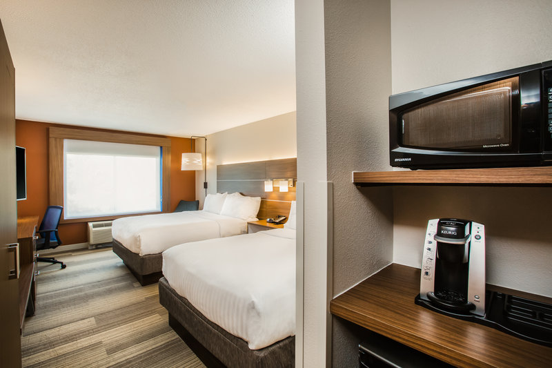 Holiday Inn Express & Suites Bellevue (Omaha Area)-All of our rooms feature a microwave, mini-fridge and Keurig!<br/>Image from Leonardo
