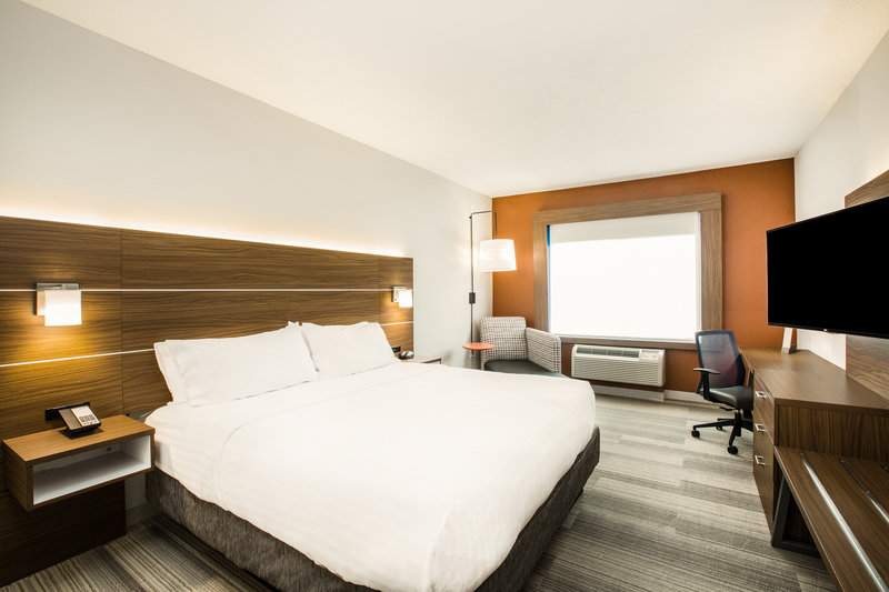 Holiday Inn Express & Suites Bellevue (Omaha Area)-Our King rooms offer a new, modern design and free WIFI!<br/>Image from Leonardo