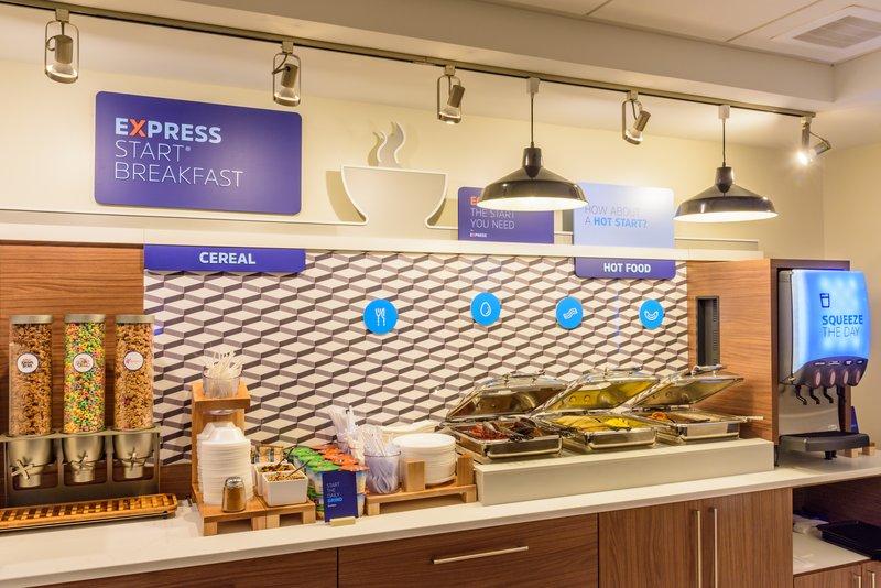 Holiday Inn Express Charleston US Hwy 17 & I-526-Express Start Breakfast<br/>Image from Leonardo