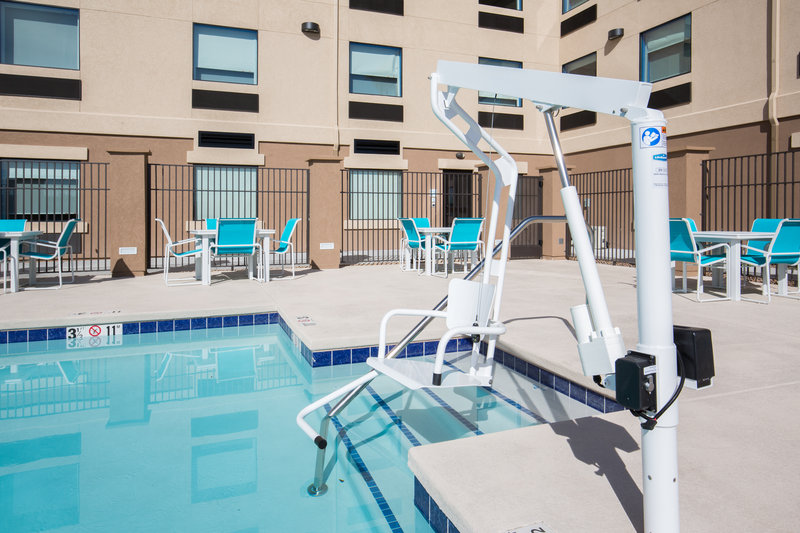 Holiday Inn Express & Suites Pahrump-ADA/Handicapped accessible Swimming Pool lift<br/>Image from Leonardo