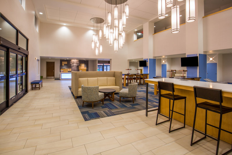 Holiday Inn Express & Suites Pahrump-The beautiful new lobby in the Holiday Inn Express in Pahrump, NV<br/>Image from Leonardo
