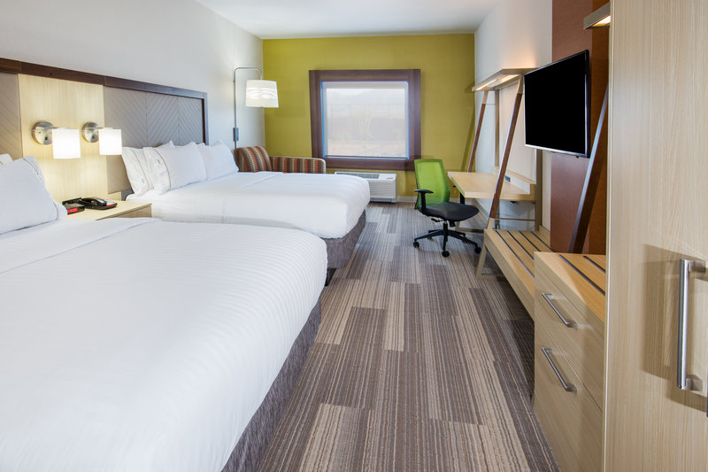Holiday Inn Express & Suites Pahrump-Spacious guests rooms all come equipped with fridge and microwave<br/>Image from Leonardo