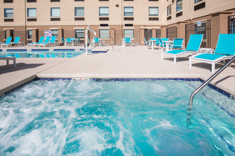 Holiday Inn Express & Suites Pahrump-Relax and unwind in our large outdoor hot tub<br/>Image from Leonardo