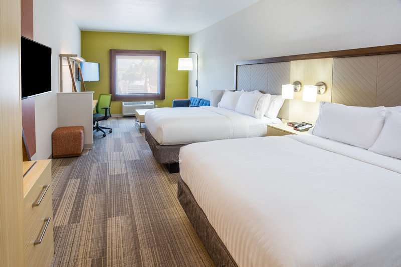 Holiday Inn Express & Suites Pahrump-Our large two queen suite has all the room you need for the family<br/>Image from Leonardo