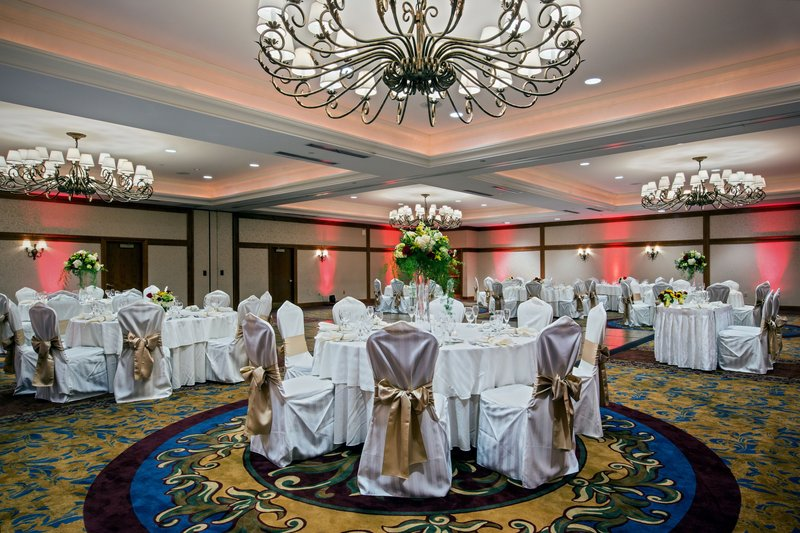 Crowne Plaza Philadelphia - King of Prussia-Host your wedding reception in the beautiful Independence Ballroom<br/>Image from Leonardo