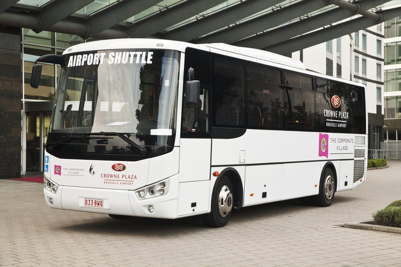 Crowne Plaza Brussels Airport-Free Brussels Airport shuttle service<br/>Image from Leonardo