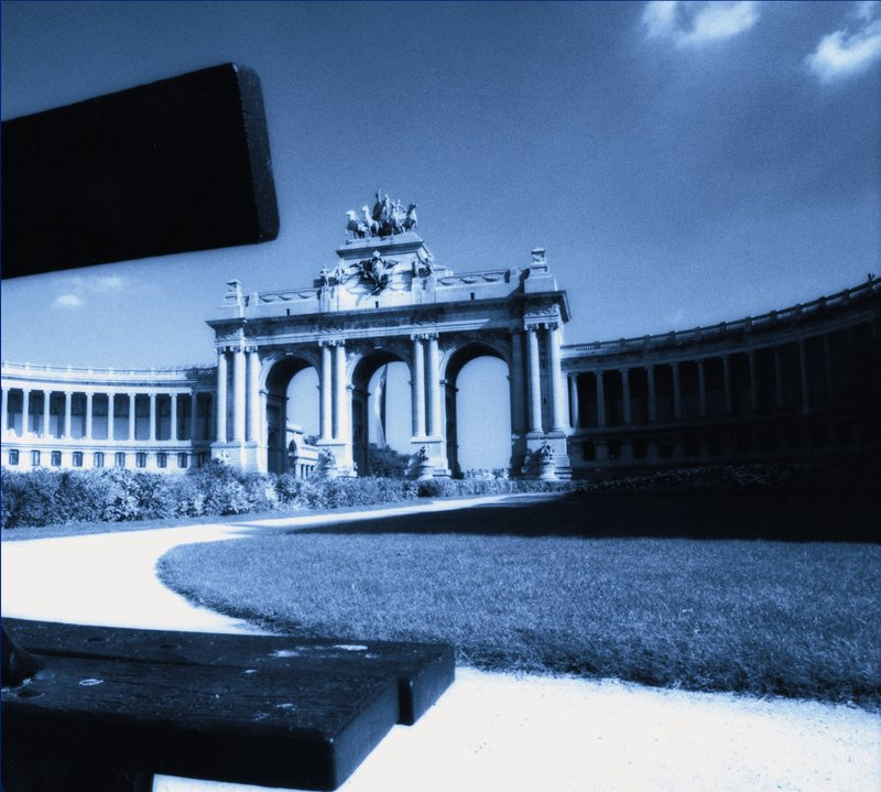 Crowne Plaza Brussels Airport-Cinquantenaire Arch<br/>Image from Leonardo