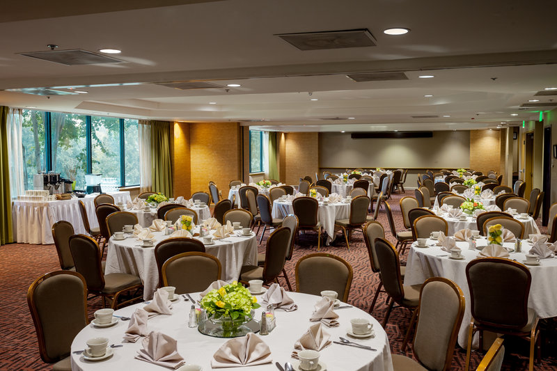 Crowne Plaza Austin - Town Lake-Our Lantana Ballroom is perfect for a lakeside catered event<br/>Image from Leonardo