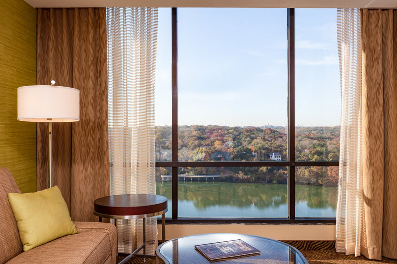 Crowne Plaza Austin - Town Lake-Enjoy views of beautiful Austin Town Lake from a lake view room.<br/>Image from Leonardo