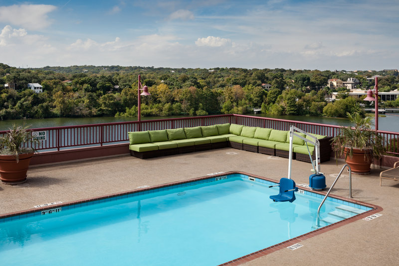 Crowne Plaza Austin - Town Lake-Take in some sun on our 6th floor pool deck<br/>Image from Leonardo