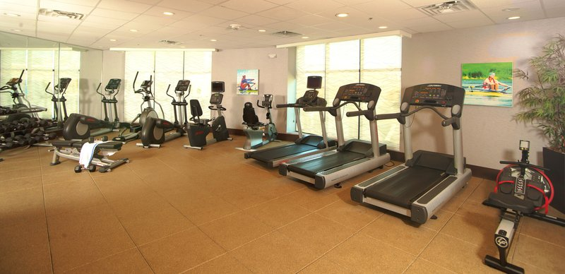 Crowne Plaza Austin - Town Lake-Fitness Center for all levels at Holiday Inn Austin-Town Lake.<br/>Image from Leonardo