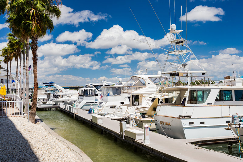 Holiday Inn & Suites Clearwater Beach S Harbour-Bring your boat! Contact the Dock Master for availability. <br/>Image from Leonardo