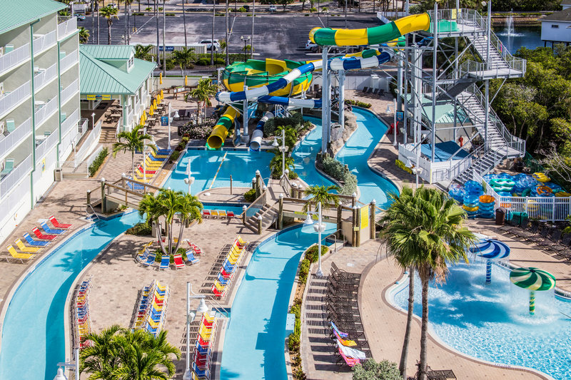 Holiday Inn & Suites Clearwater Beach S Harbour-Guests enjoy discount prices to Splash Harbour Water Park.  <br/>Image from Leonardo