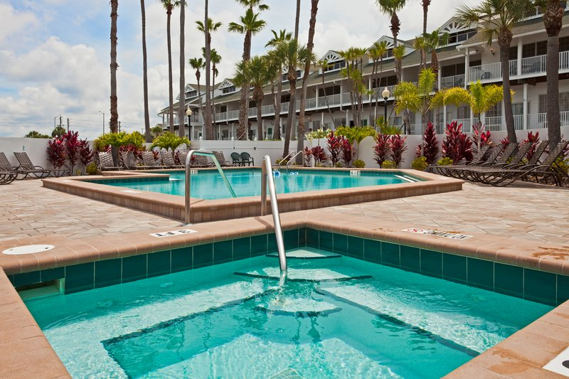 Holiday Inn & Suites Clearwater Beach S Harbour-Garden Pool and Jacuzzi- perfect for soaking up the Florida sun<br/>Image from Leonardo