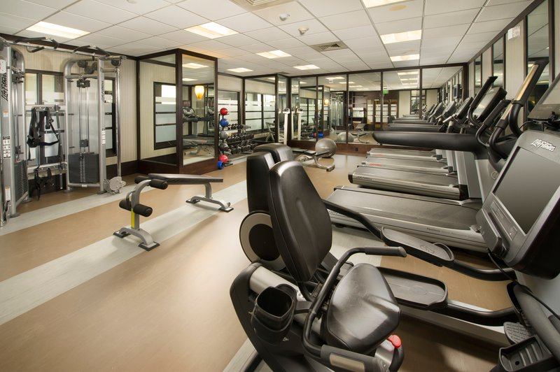 Crowne Plaza Seattle Airport-Fitness Center<br/>Image from Leonardo