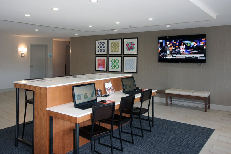 Holiday Inn Express Branford - New Haven-Business Center with printer,copy, scanner<br/>Image from Leonardo