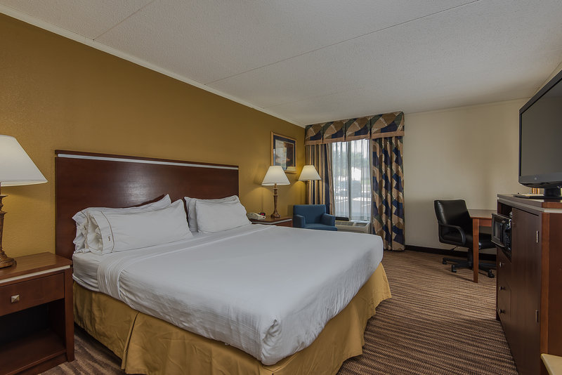 Holiday Inn Express Roanoke-Civic Center-King Guest Room<br/>Image from Leonardo