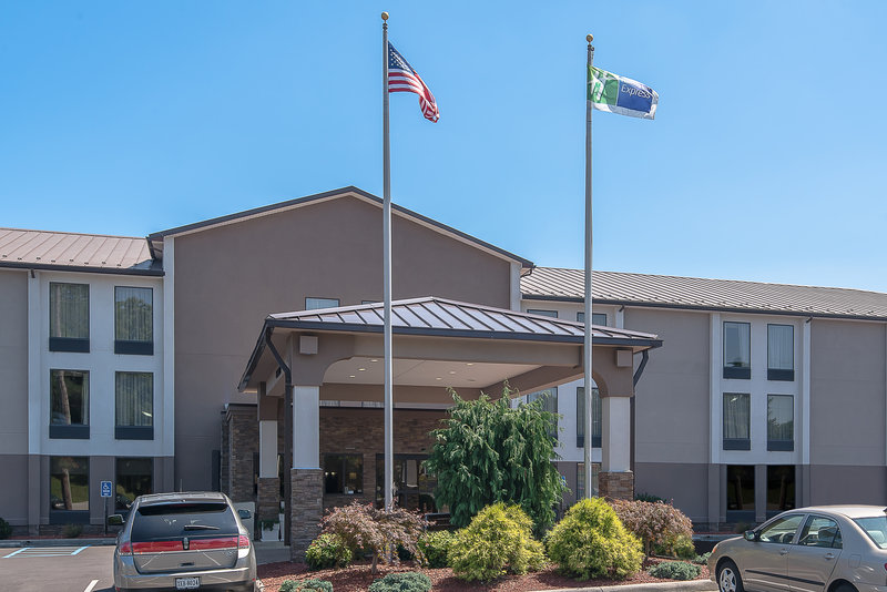 Holiday Inn Express Roanoke-Civic Center-Hotel Exterior<br/>Image from Leonardo