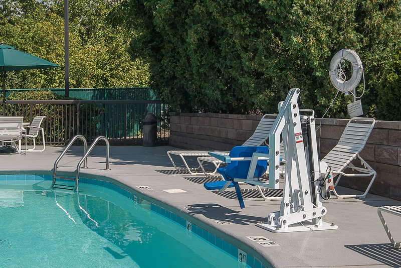 Holiday Inn Express Roanoke-Civic Center-ADA/Handicapped Accessible Swimming Pool Lift<br/>Image from Leonardo