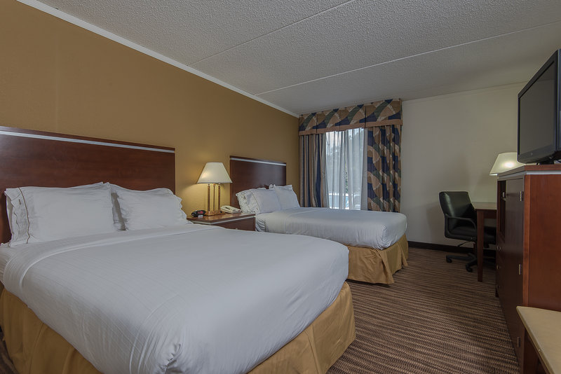 Holiday Inn Express Roanoke-Civic Center-Two Double Bed Guest Room<br/>Image from Leonardo
