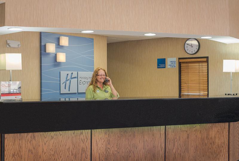 Holiday Inn Express Roanoke-Civic Center-Front Desk<br/>Image from Leonardo