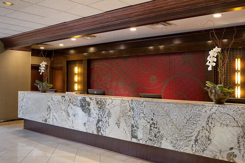 Crowne Plaza Dallas Galleria - Addison-Front Desk at Crowne Plaza Dallas Near Galleria-Addison<br/>Image from Leonardo