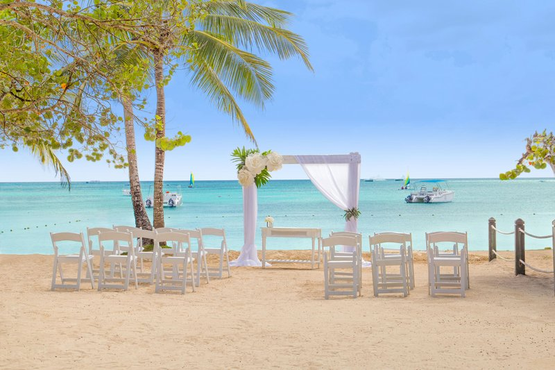 Hilton La Romana, an All Inclusive Adult Rst - Beach Wedding Setup <br/>Image from Leonardo