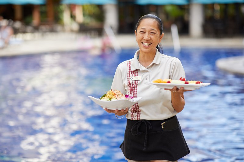 Outrigger Reef Waikiki Beach Resort - Poolside Menu <br/>Image from Leonardo