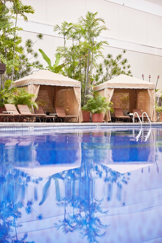 Outrigger Reef Waikiki Beach Resort - Pool Hale (Cabanas) <br/>Image from Leonardo