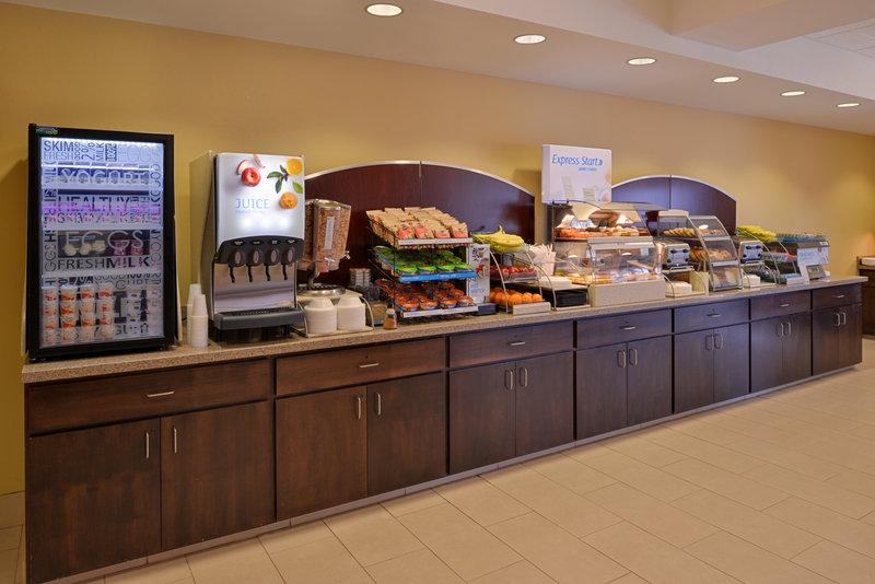 Holiday Inn Express Page - Lake Powell Area-Breakfast Bar<br/>Image from Leonardo