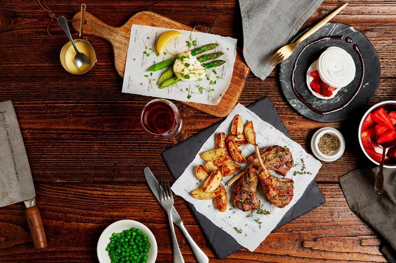 Marriott Portsmouth Hotel-Cast Iron Bar & Grill - Set Menu<br/>Image from Leonardo