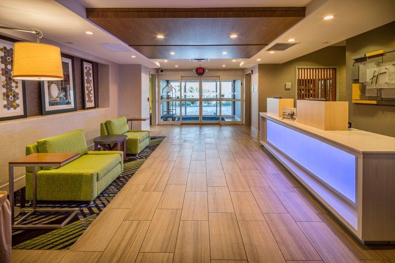 Holiday Inn Express & Suites Modesto-Salida-Reception Desk<br/>Image from Leonardo